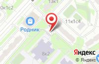 Схема проезда до компании Лигаопт в Москве