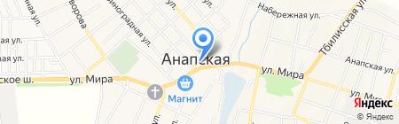 Котофей на карте Анапы