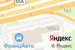 Схема проезда до компании Гринтэк-Озеленение в Новоивановском