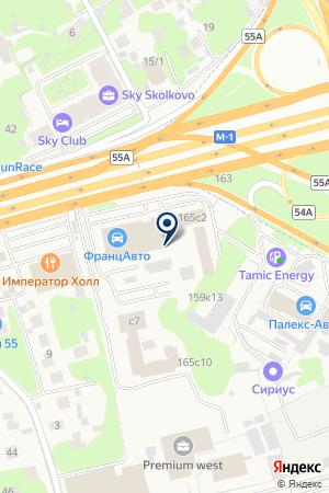 Калита-моторс на карте Новоивановского