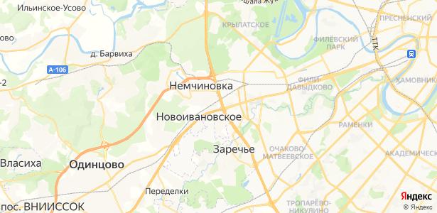 Малая Сетунь на карте