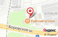 Схема проезда до компании Главный Метролог в Москве