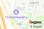 Схема проезда до компании Запчасти на Мазду в Москве