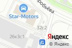 Схема проезда до компании GDR в Москве