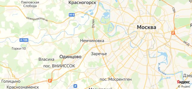 Звенигород - Лобня электричка в Голицыно