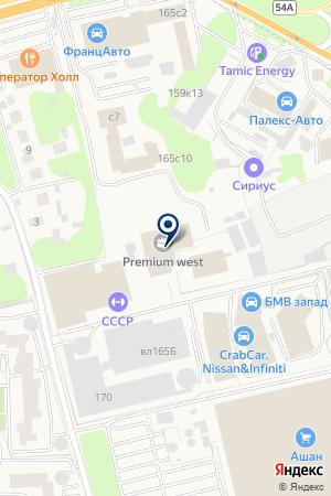 АВТОСАЛОН НОВО-АВТО на карте Можайска
