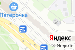 Схема проезда до компании TOBACCO service в Москве