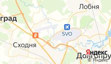 Отели города Исаково на карте