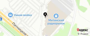 Денсервис на карте Москвы