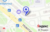 Схема проезда до компании КРАСНОГОРСКАЯ СТАНЦИЯ в Москве