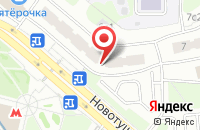 Схема проезда до компании Попутчик в Москве