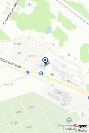 ХИМКИНСКИЙ ФИЛИАЛ СКЛАДСКОЙ КОМПЛЕКС АВИАЗАПЧАСТЬ на карте Химок
