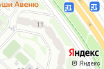 Схема проезда до компании Контакт-сдс в Москве