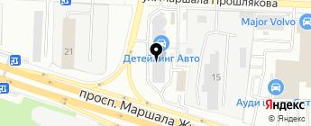 Alarm Pro на карте Москвы