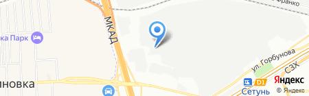 Мирус авто на карте Москвы