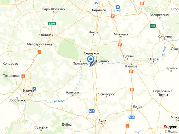 ДНП Романовские Дворики на карте