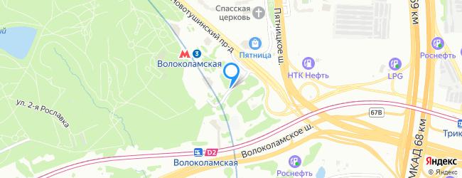 Новотушинская улица