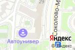 Схема проезда до компании ВЭББАНКИР в Москве