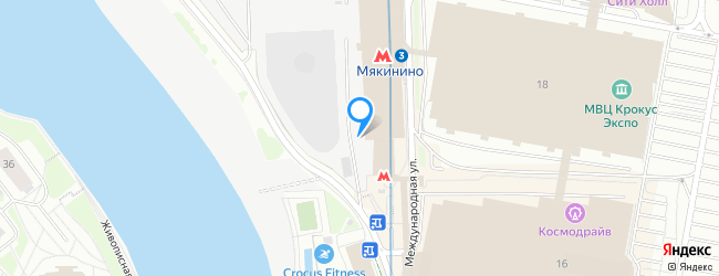 метро Мякинино