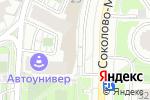 Схема проезда до компании Правовой советник в Москве