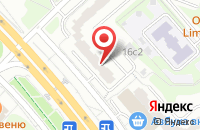Схема проезда до компании АвтоКинематика в Москве
