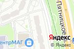Схема проезда до компании Управление социальной защиты населения района Митино в Москве
