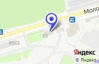 Схема проезда до компании ТРАНСПОРТНАЯ ФИРМА ДВИН в Москве