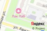 Схема проезда до компании Инград Недвижимость в Москве