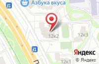 Схема проезда до компании Шаг в Москве