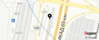 Эргономика на карте Москвы