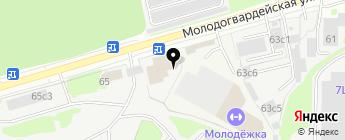 BIPART24 на карте Москвы