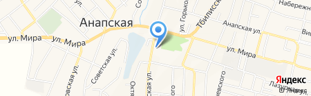 Банкомат КБ Кубань Кредит на карте Анапы