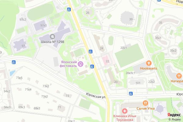 Ремонт телевизоров Улица Соколово Мещерская на яндекс карте