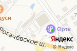 Схема проезда до компании Дикси в Озерецком