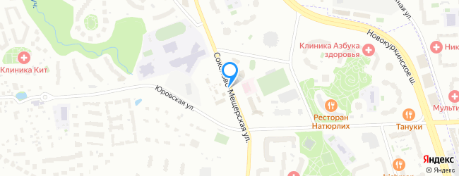 Соколово-Мещерская улица