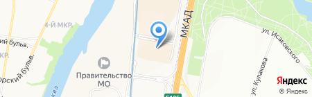 Лестницы SWN на карте Москвы