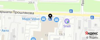 Major Honda на карте Москвы