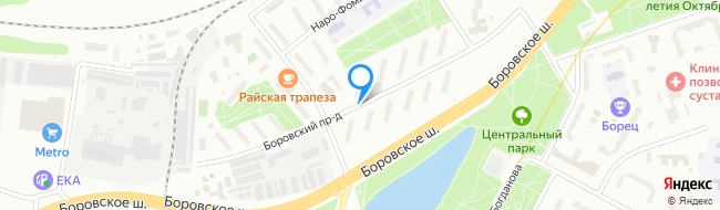 Боровский проезд
