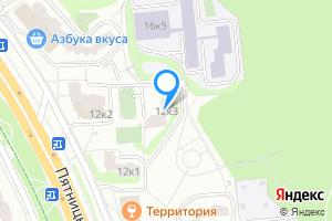 Снять двухкомнатную квартиру в Москве Пятницкое ш., 12к3