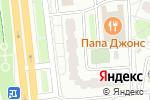 Схема проезда до компании Стилист в Москве