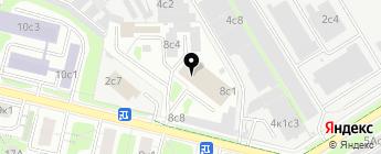 Полиуретан на карте Москвы