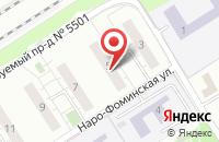 Схема проезда до компании Санфе в Москве