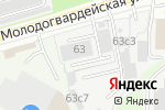 Схема проезда до компании Глав Доставка в Москве