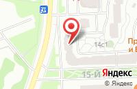Схема проезда до компании Виртуальные Технологии В Образовании в Москве