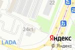Схема проезда до компании Fiat-shop в Москве
