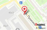 Схема проезда до компании Народный автомобиль в Серпухове