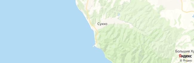 Сукко на карте