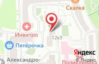 Схема проезда до компании Реалстрой в Москве