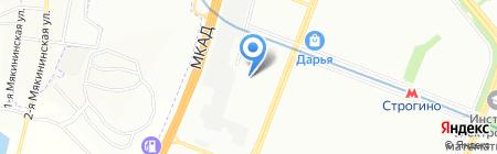 Mova Globe на карте Москвы