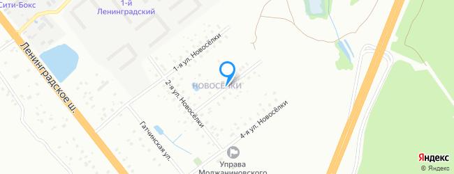 улица Новосёлки 3-я